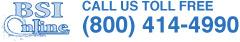 bsi call us toll free 800-414-4990